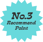 No.3 Recommend Point