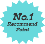 No.1 Recommend Point